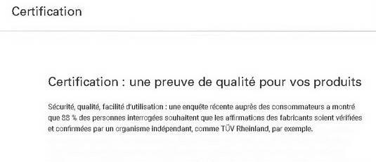 La certification qualité ISO 9001