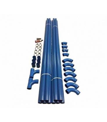 Kit réseau PVC 60 m tubes diamètre 50 mm