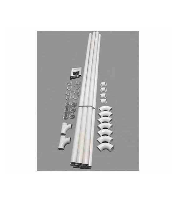 Kit réseau PVC 20 m tubes diamètre 51 mm