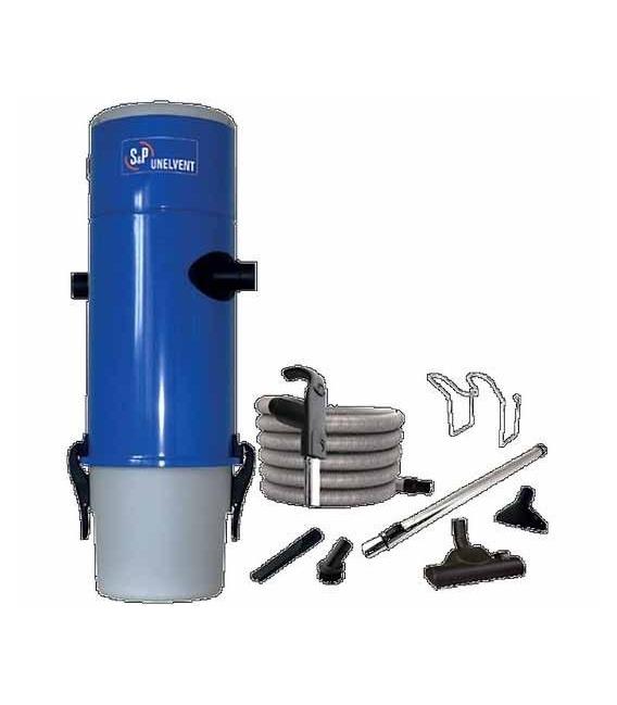Kit Centrale d'Aspiration Saphir 350 Unelvent - 653 Air Watts - jusqu'à 300 m²