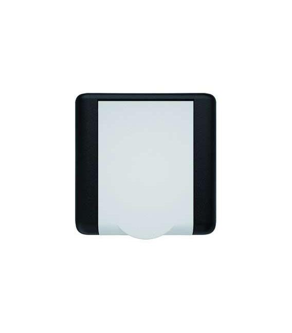 Prise d'aspiration Square bicolore noire et blanche