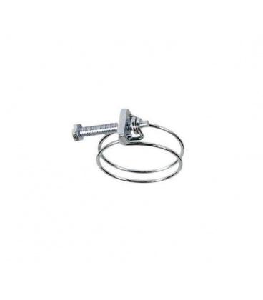 Collier de serrage D80 double fil métal