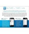 Option Tubolink pour tableau de bord sur smartphone ou tablette
