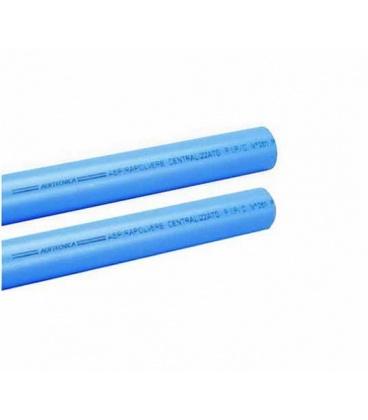 Tube PVC d'aspiration centralisée premium D50 longueur 1 m