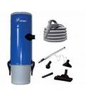 Pack aspirateur centralisé Unelvent SAPHIR 250 N flexible inter