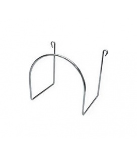 Support métal pour tuyau flexible aspirateur
