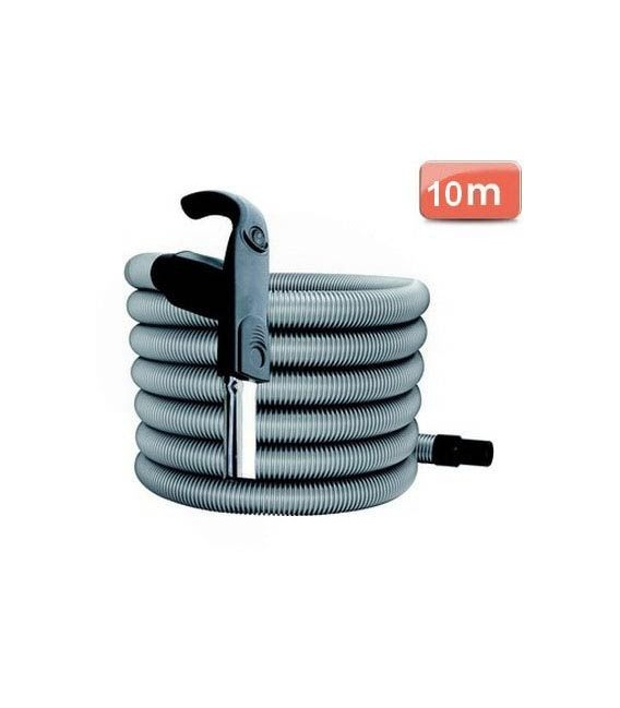 Flexible pour aspirateur centralisé 10 m Inter On Off premium