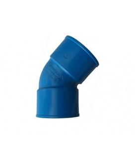 COUDE 45 PVC D63FF