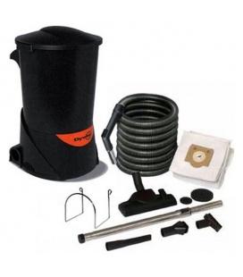 Pack aspirateur centralisé Dyvac avec flexible et set de nettoyage