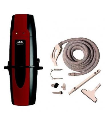 Pack centrale AEG Confort ZCV860 avec flexible variateur et set nettoyage
