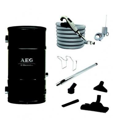 Pack centrale AEG Prime sans fil avec flexible 9 m radio et set nettoyage