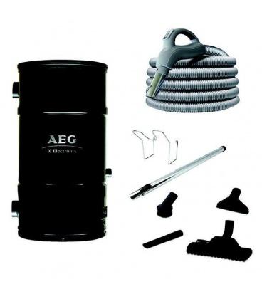 Pack centrale AEG Prime avec flexible 9 m interrupteur ON/OFF et set nettoyage