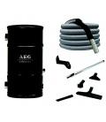 Pack centrale AEG Prime avec flexible 9 m standard et set nettoyage