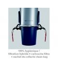 Filtration hybride système Clean Bag Aertecnica