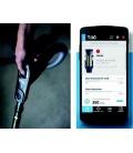 Flexible Tubo Power Control Aertecnica TP2 et affichage sur smartphone