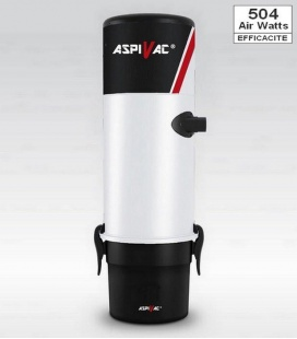 Centrale d'aspiration ASPIVAC AS210 - efficacité 504 Airwatts