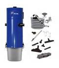 Pack aspirateur centralisé Unelvent SAPHIR 700 / 2N flexible RADIO