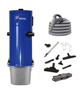 Pack aspirateur centralisé Unelvent SAPHIR 700 / 2N flexible inter