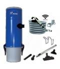 Kit aspirateur centralisé SAPHIR 250 SAC S&P Unelvent sans fil avec commande RADIO