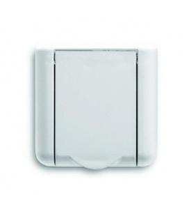 Prise aspiration Square blanche PA600 dimensions 80 x 80 mm