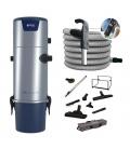 Pack centrale Aertecnica TS4 flexible 9 M variateur