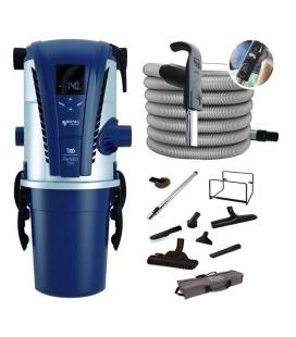 Kit aspiration centralisée Aertecnica TP1A + flexible variateur + set Confort