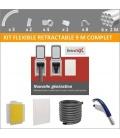 Kit flexible rétractable 9 M avec prise Retraflex