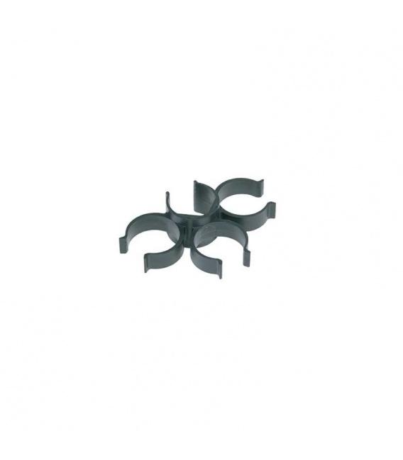 Support clip pour accessoires sur canne