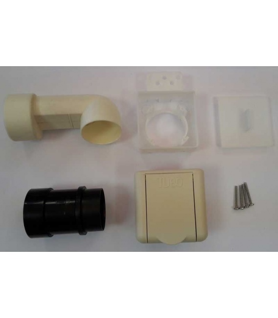 Kit prise Square D51 ivoire complet