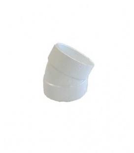 Coude PVC à 30° en D51FF