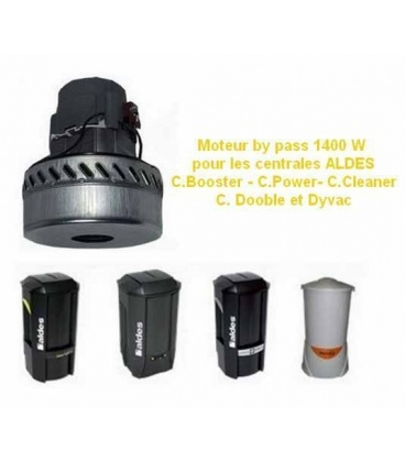 Moteur pour centrale Dyvac - C.Cleaner - C.Booster - C.Power - C.Dooble