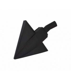 Brosse triangulaire pour sols lisses et recoins
