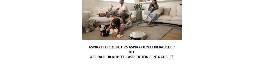 Robot aspirateur auto nettoyant centralisé AERTECNICA