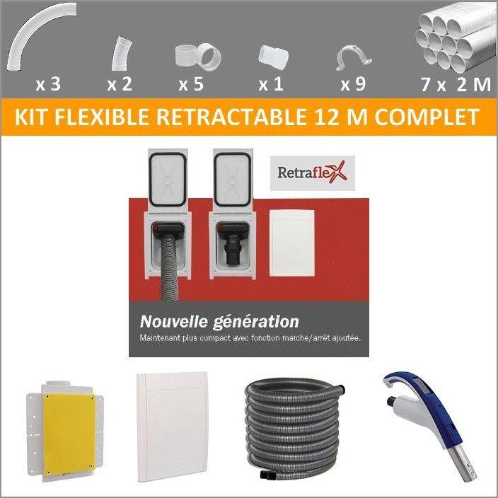Kit flexible rétractable prêt à poser